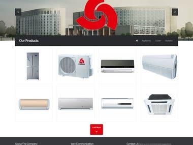 WordPress Appliance Shop