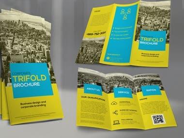 Tri fold brochure deisgn