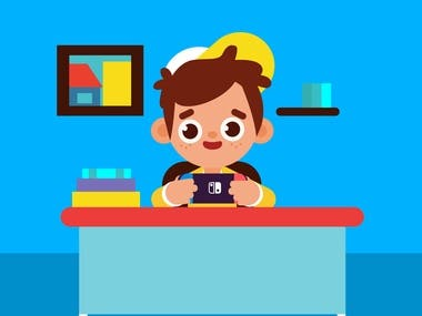 Kids Illustration Vectors and Animations