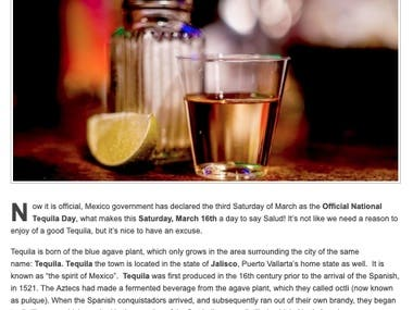 Happy National Tequila Day! - March 16th