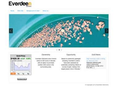 Everdeen Elements (Wordpress)