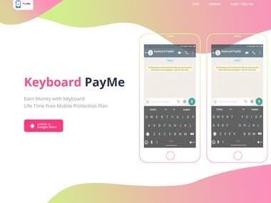 Keyboard PayMe