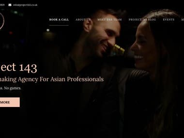 Project 143 ( UK ) - Wordpress Development