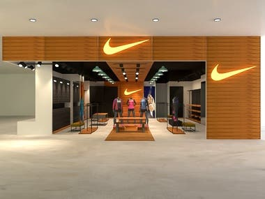 Nike Store Design