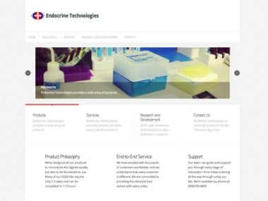 Endocrine Technologies (Wordpress, Open Cart)