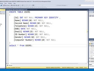 Database Programming & Administration