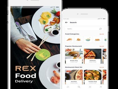 Rex - Food Delivery App