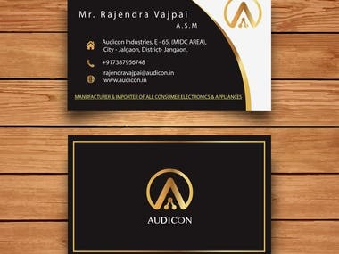 Audicon Industries Pvt .Ltd