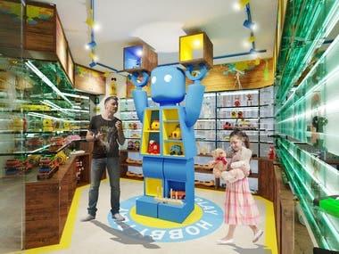 "Shop of modern gadgets "" HOBBY PLAY"""