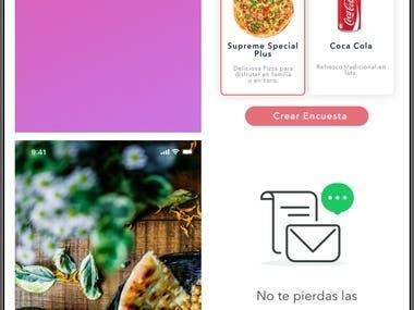 Flutter Restaurant app