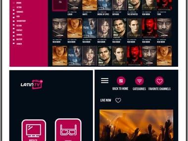 Android IPTV app (TV & Phone)