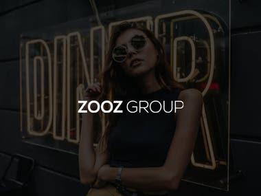 Zooz Group Website Design