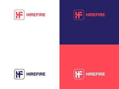 HireFire - Logo Design