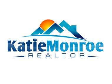 Logo Design For Katie Monroe, Realtor