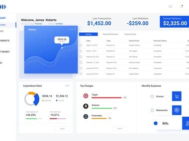 E-Wallet Dashboard