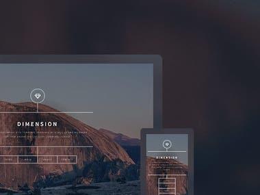 Mock-up Website