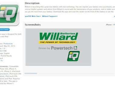 Willard Batteries, South Africa