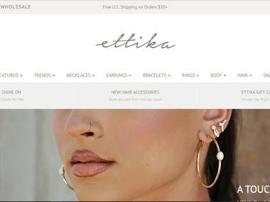 Ettika Jewelry Site