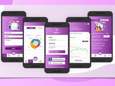 Finical service app
