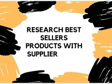 Profitable Product Research for Suppliers Distributors