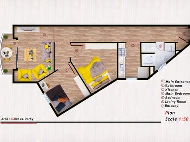 Re-design an apartment
