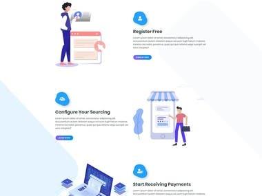 Vue.js FrontEnd ( Payment Website )