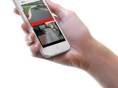 App designed for CCTV