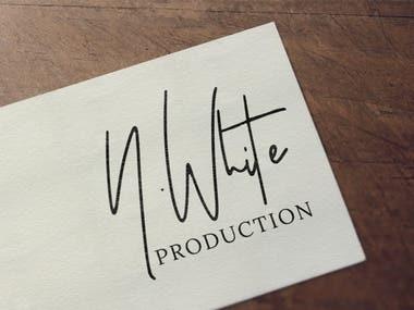 n.white production logo
