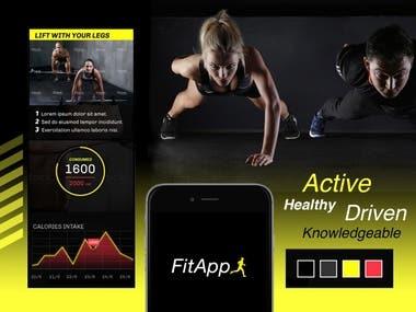Fitness Web app & Mobile app