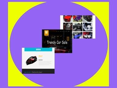 Car Trade B2B Website