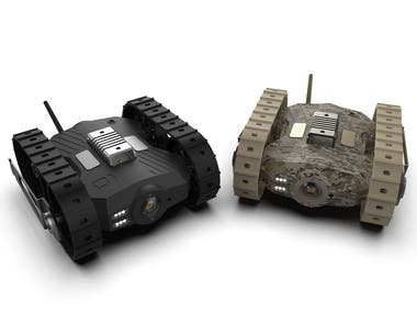 M-UGV Design ( Product and Mechanical Design)