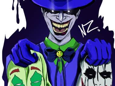 Si vas usar mascaras usa tu mejor mascara Joker
