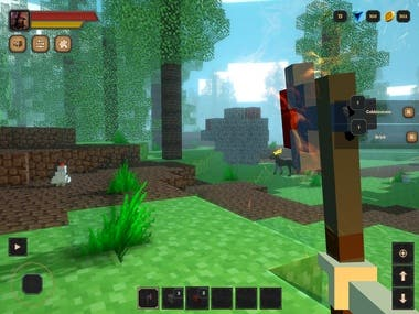 Unity3D Mobile Voxel Game