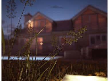 3d house rendering