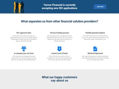 Financial Wordpress