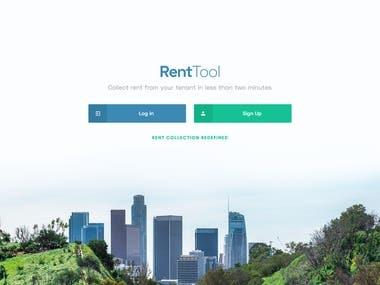 Rent Tool System