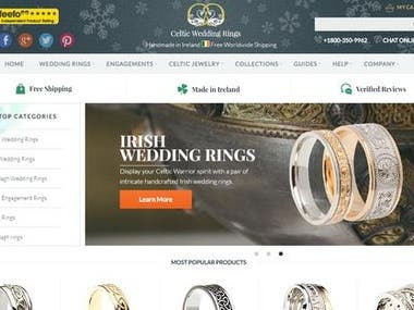 Celtic Weddingrings