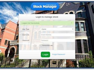 Advance Stock Manager (POINT OF SALE)