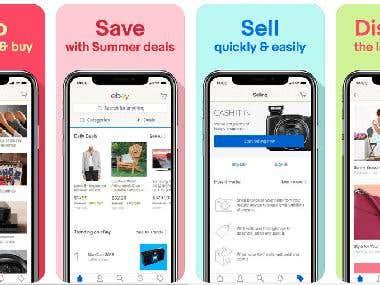Online Shop (Native Mobile App)