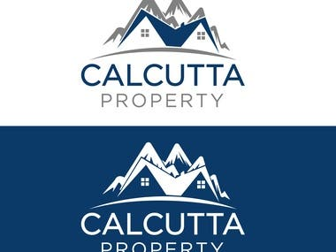 Calcutta property logo desing