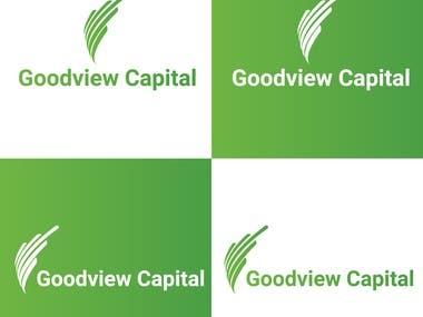 Goodview Capital logo desing