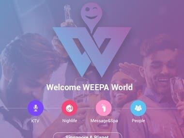Weepa Startup (web-app)