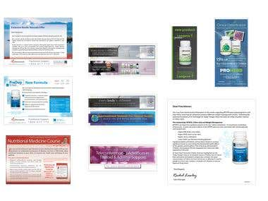 Flyers and Electronic Advertising