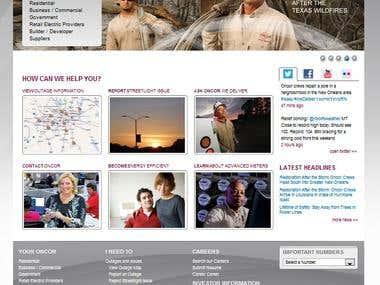 Oncor Internet Portal