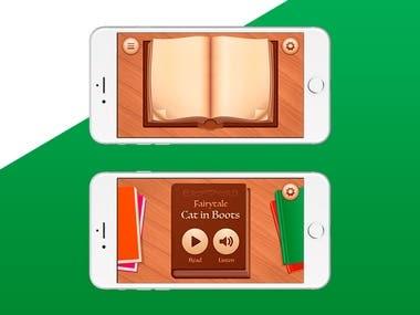 Audio book - mobile app