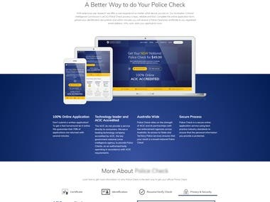 National Police Check Application