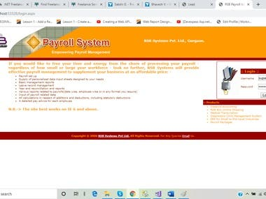 RSB PAYROLL SYSTEM (IN HOUSE DEVELOPMENT)