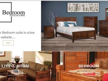 Legancy Furniture - Magento site