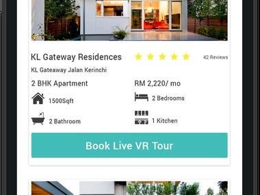 AR Property Listing App