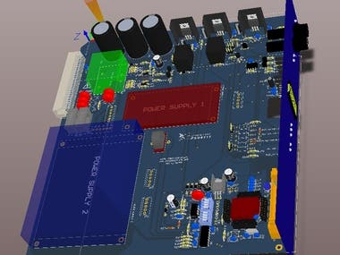 Power Supply Card For Traffic Controller